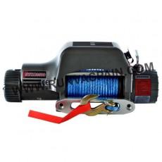 CABRESTANTE EWXC9500 - 4309kg, ALTA VELOCIDAD, 12V, caja reles fija, mando inalámbrico y cable sintético