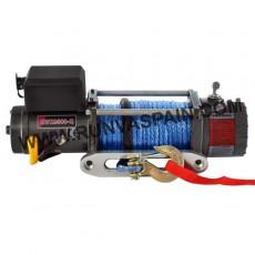 CABRESTANTE EWX9500 ALTA VELOCIDAD - 4309kg, 12v, mando inalámbrico y cable sintético