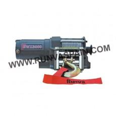 CABRESTANTE EWX3000 - 1360kg 24v con mando inalámbrico y cable sintético