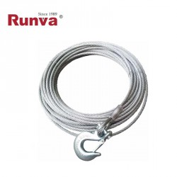 Cable acero 10mm x 26m con gancho (EW12000)