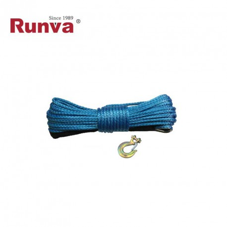 Cable 6mm x 15m con gancho