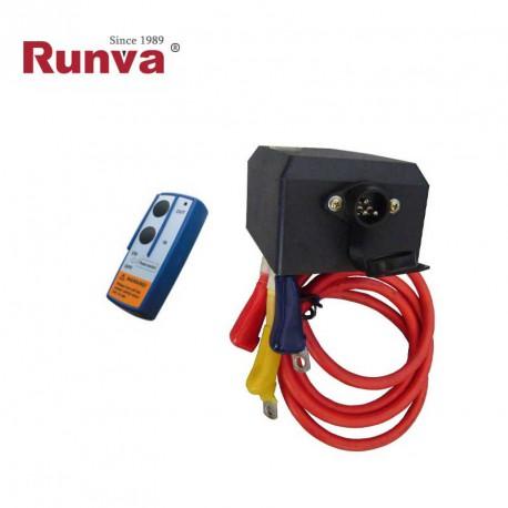 Cajas de reles SN400 12V + cables + mando inalambrico M