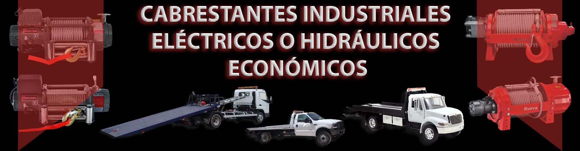 Cabrestantes industriales baratos