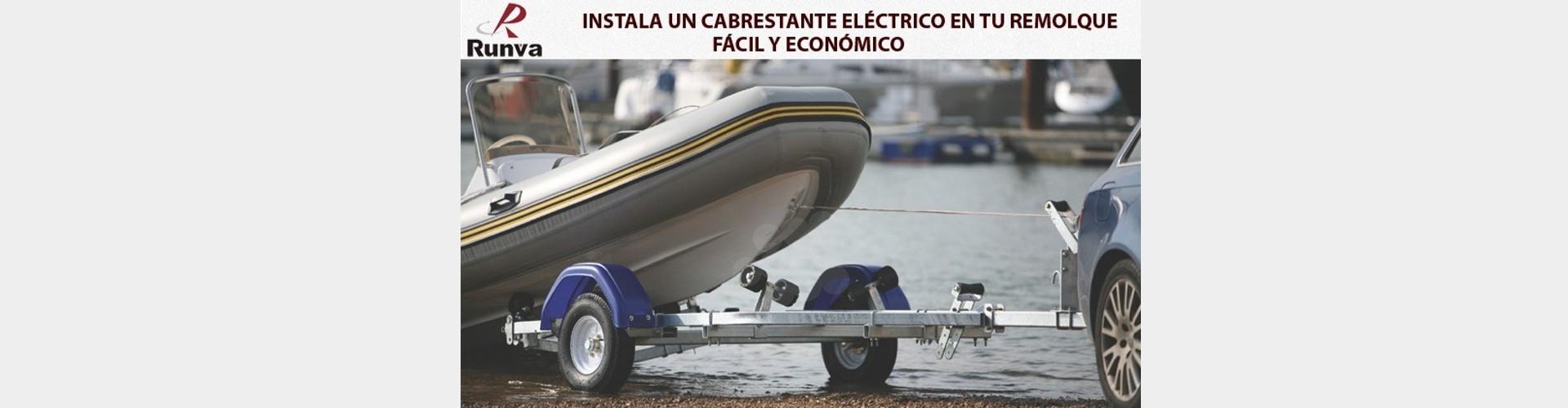 Cabrestante eléctrico náutica