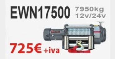Oferta Cabrestante eléctrico con mando inalámbrico